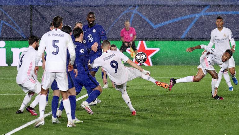 «Челси» насвоем поле примет «Реал». Фото twitter.com/realmadrid