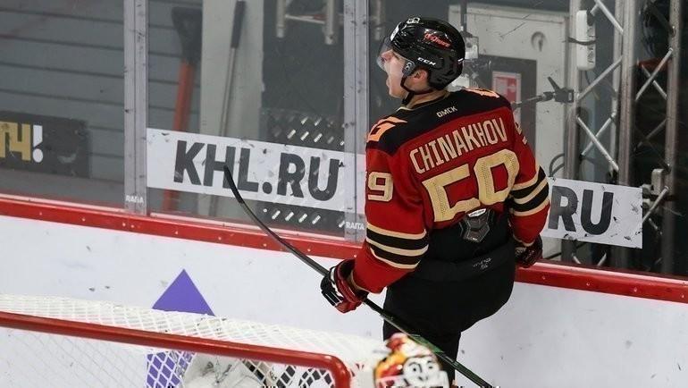 Егор Чинахов. Фото ХК «Авангард»
