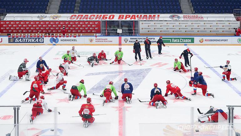 Тренировка сборной России. Фото Дарья Исаева, «СЭ» / Canon EOS-1D X Mark II