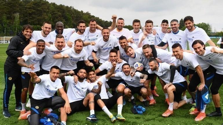 «Интер» выиграл чемпионат Италии. Фото ФК «Интер».