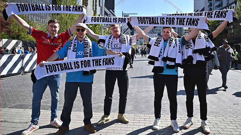 Английские болельщики жаждут футбола. Фото AFP