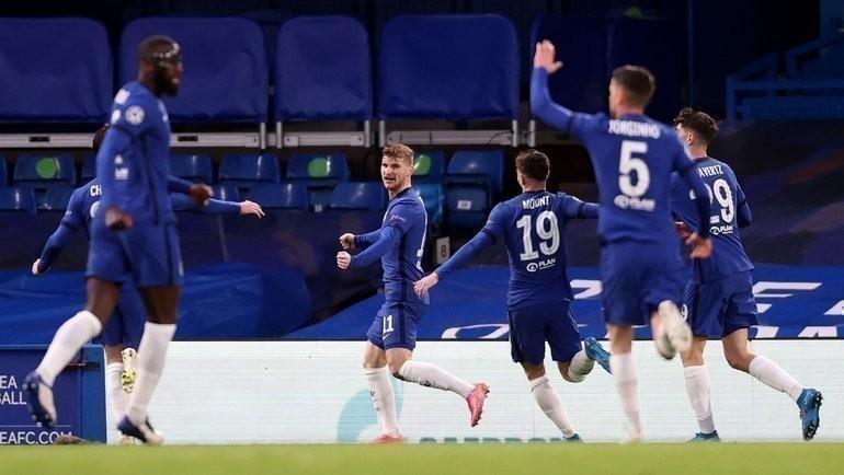 «Челси»— «Реал»: Тимо Вернер открыл счет вматче. Фото Twitter