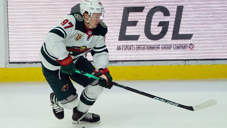 «Миннесота» Кирилла Капризова сыграет с «Вегасом». Фото USA Today Sports
