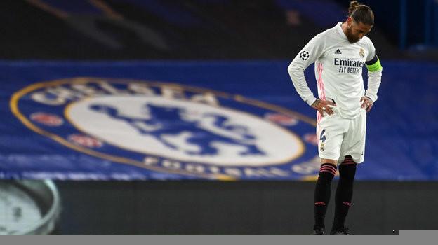 5мая. Лондон. «Челси»— «Реал»— 2:0. Серхио Рамос после вылета вполуфинале Лиги чемпионов.