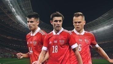 Кто изфланговых полузащитников должен войти взаявку сборной России наЕвро-2020?