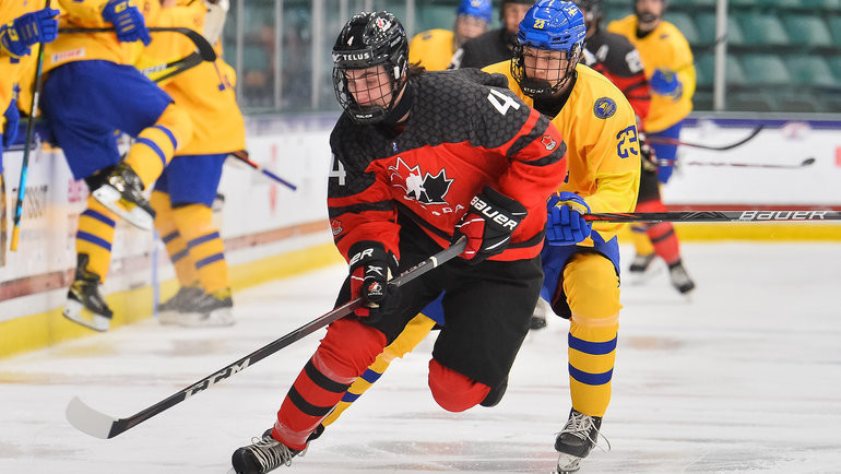 6мая. Канада— Швеция— 8:1. Фото IIHF
