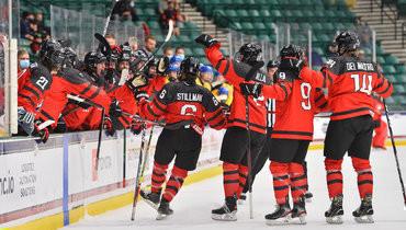 Канада— Швеция— 8:1.