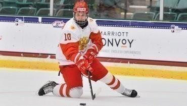 Российский хоккеист Мирошниченко признан лучшим игроком дня ЮЧМ-2021