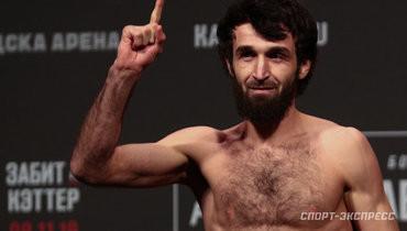 Тренер Магомедшарипова: «Забит будет драться только затитул UFC. Иначе онможет завершить карьеру»