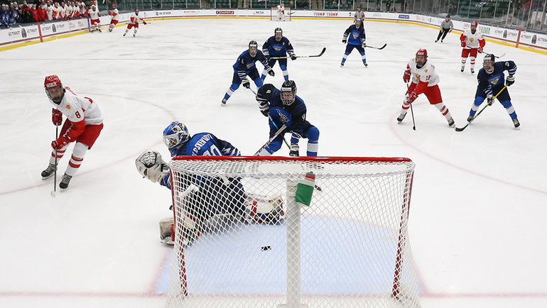 Финляндия — Россия. Фото IIHF