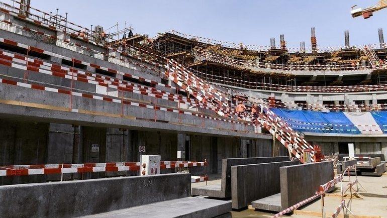 «Арена Омск». Фото ХКАвангард