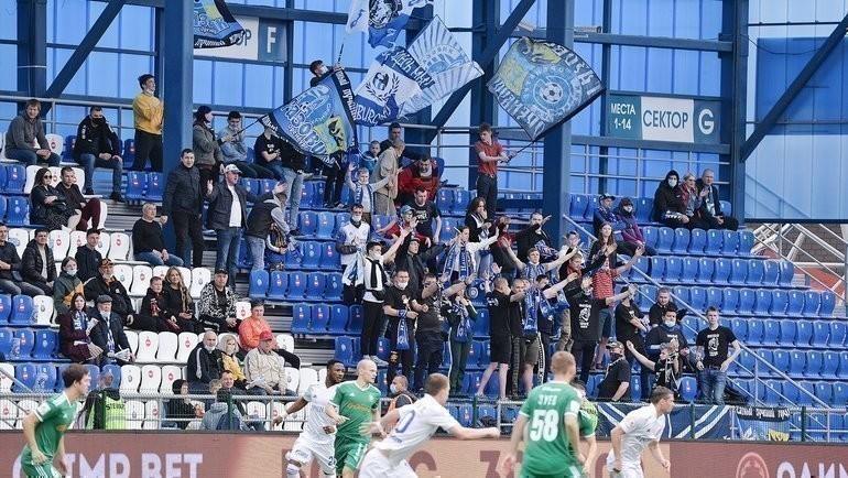 Болельщики «Оренбурга». Фото ФК «Оренбург»