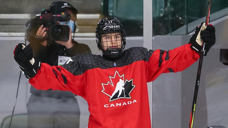 Коннор Бедард. Фото IIHF