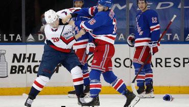 НХЛ оштрафовала «Рейнджерс» на250 тысяч долларов