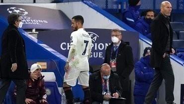 Азар извинился засвое поведение после поражения от «Челси»