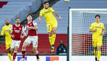 «Вильярреал» сыграл вничью с «Арсеналом» ивышел вфинал Лиги Европы