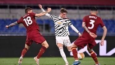 «Манчестер Юнайтед» проиграл «Роме», новышел вфинал Лиги Европы