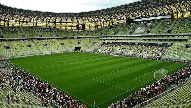 Стадион вГданьске. Фото Википедия.
