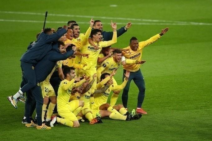 «Вильярреал» вфинале Лиги Европы. Фото УЕФА.