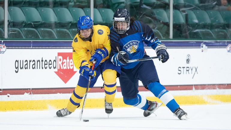 Швецию дважды наЮЧМ растерзали канадцы, ноона взяла медали! Иответила своим разгромом— финнам после России нехватило сил