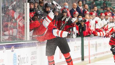 Россия проиграла Канаде вфинале юниорского чемпионата мира