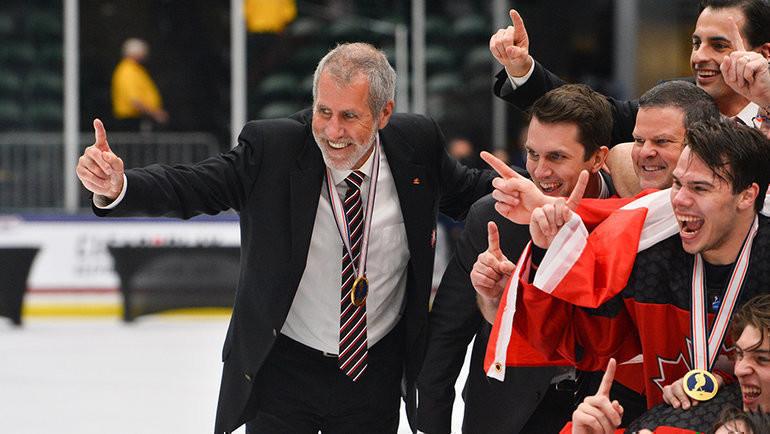 Дэйв Барр. Фото IIHF
