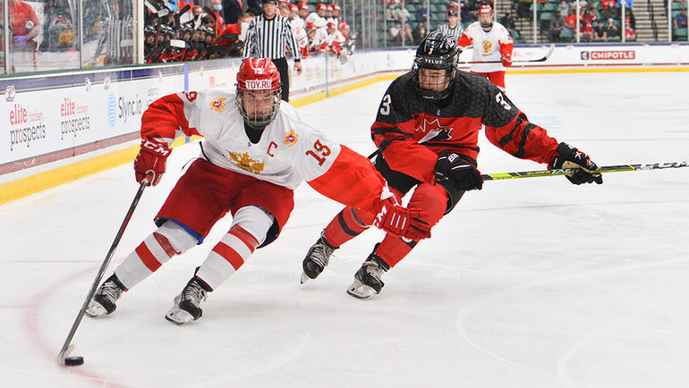 7 мая. Фриско. Канада U18 — Россия U18 — 5:3. Фото IIHF