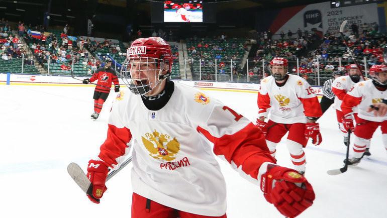Матвей Мичков. Фото IIHF