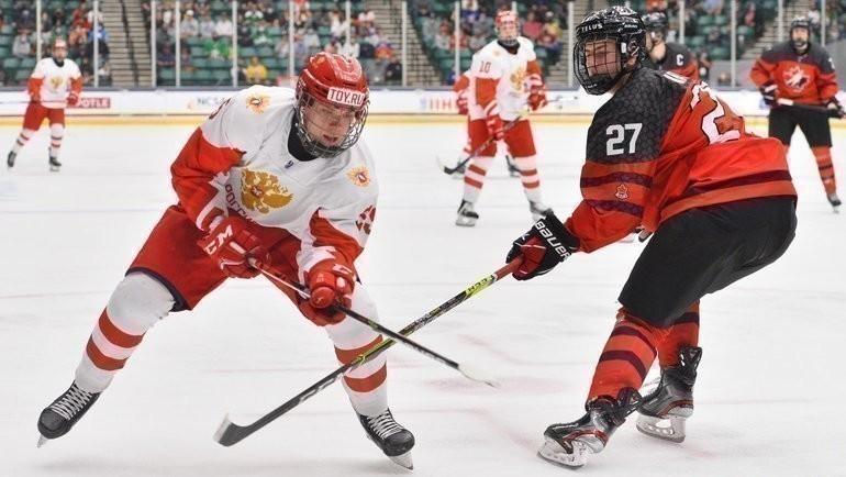 7мая. Фриско. Канада U18— Россия U18— 5:3. Фото ФХР