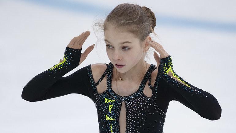 Александра Трусова. Фото Ксения Нуртдинова