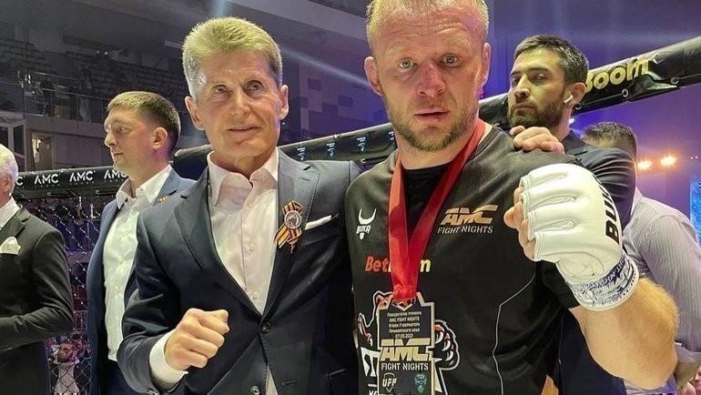 Александр Шлеменко (справа). Фото Instagram