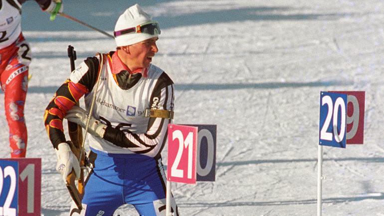1994 год. Сергей Тарасов. Фото Владимир Беззубов, ТАСС