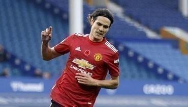Форвард «МЮ» Кавани признан лучшим игроком недели вЛиге Европы