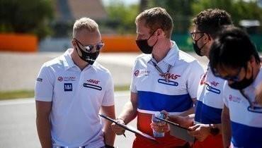 Мазепин подвел итог первого дня «Гран-при Испании»