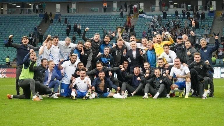 Футболисты «Сочи». Фото ФК «Сочи»