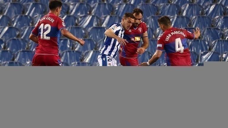 «Реал Сосьедад»— «Эльче»— 2:0. Фото Twitter
