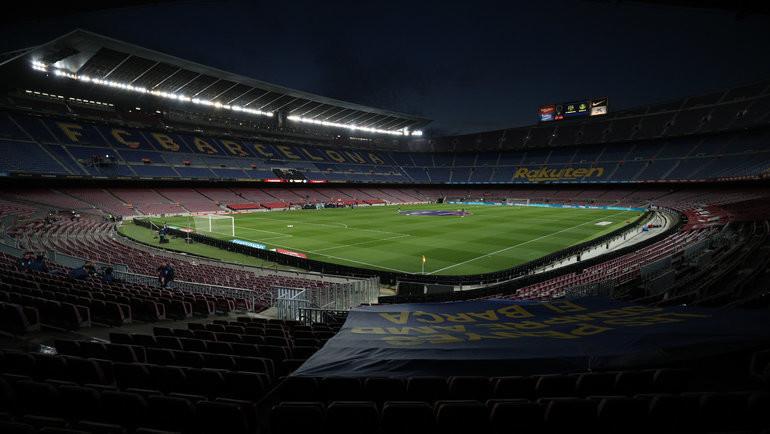 Стадион «Барселоны» «Камп Ноу». Фото Reuters