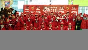 Юниорская сборная России вернулась счемпионата мира