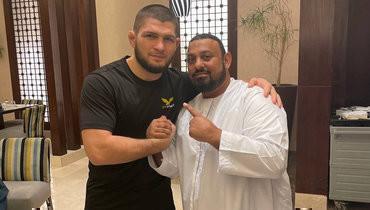 Хабиб сделал фото свеликим боксером, который изменился донеузнаваемости
