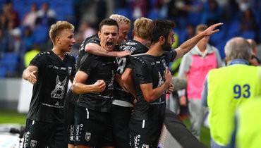 «Рубин» вбольшинстве одержал волевую победу вматче с «Арсеналом»