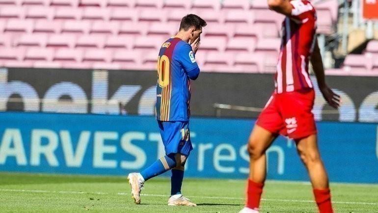 Лионель Месси. Фото ФК «Барселона».