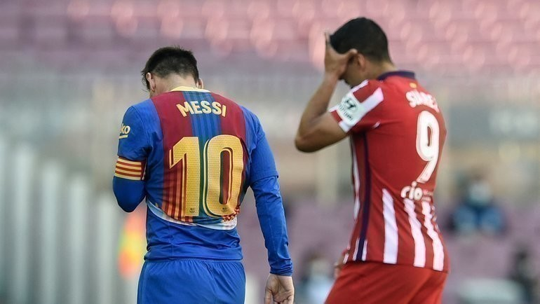Месси иСуарес остались без голов. Теперь судьба титула вруках «Реала»