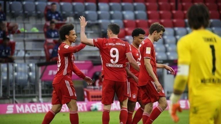 «Бавария» - чемпион Германии. Фото ФК «Бавария».