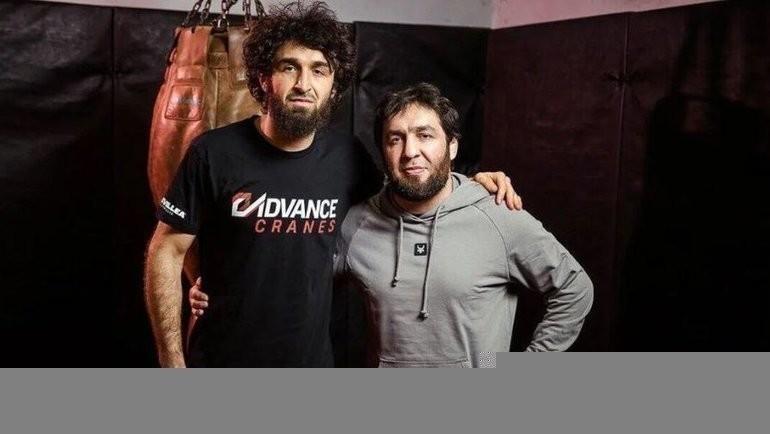 Забит Магомедшарипов (слева) иМансур Учакаев. Фото Instagram