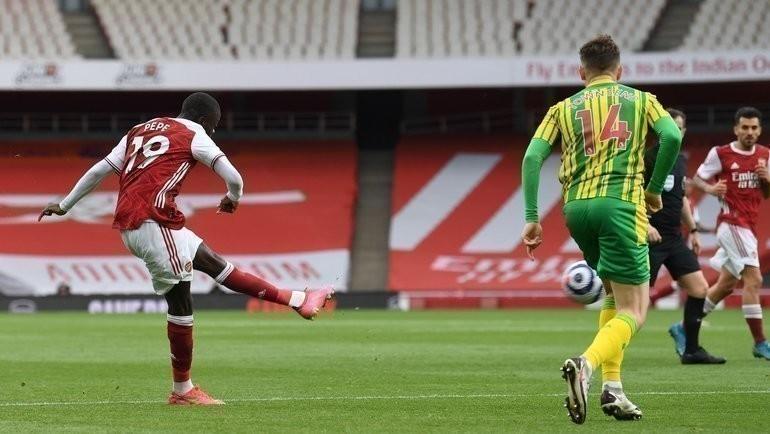 «Арсенал» обыграл «Вест Бромвич». Фото Twitter