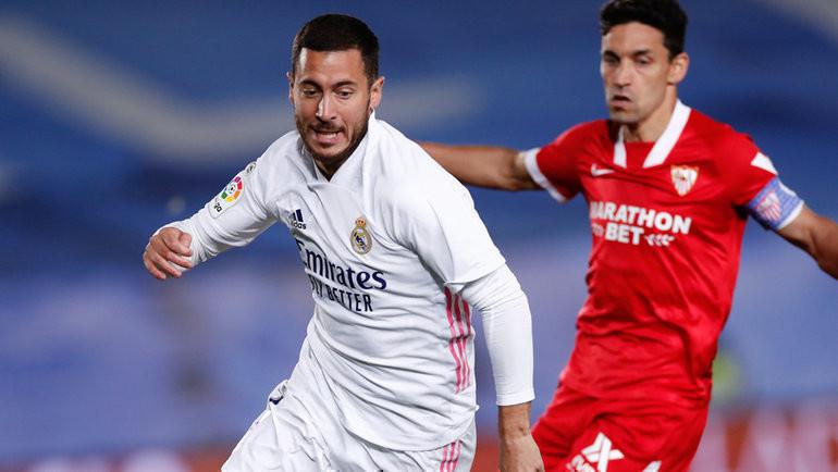 Безумие вМадриде: ВАР почти похоронил «Реал», нопятка Азара спасла его отпоражения. Фаворит лалиги теперь «Атлетико»