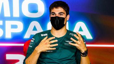Пилот «Астон Мартина» Стролл показал Мазепину средний палец во время гонки «Гран-при Испании»