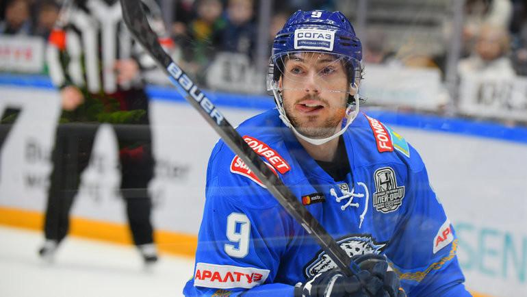 Джесси Блэкер. Фото photo.khl.ru