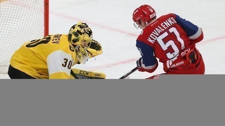 Николай Коваленко может перейти из «Локомотива» в «АкБарс». Фото ХК «Локомотив»