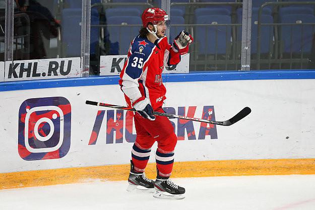 Никита Коростелев. Фото ХКЦСКА